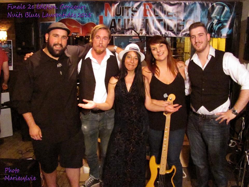 RUDE MOOD Gagnant du Concours Nuits Blues Catégories Chanteur et Groupe