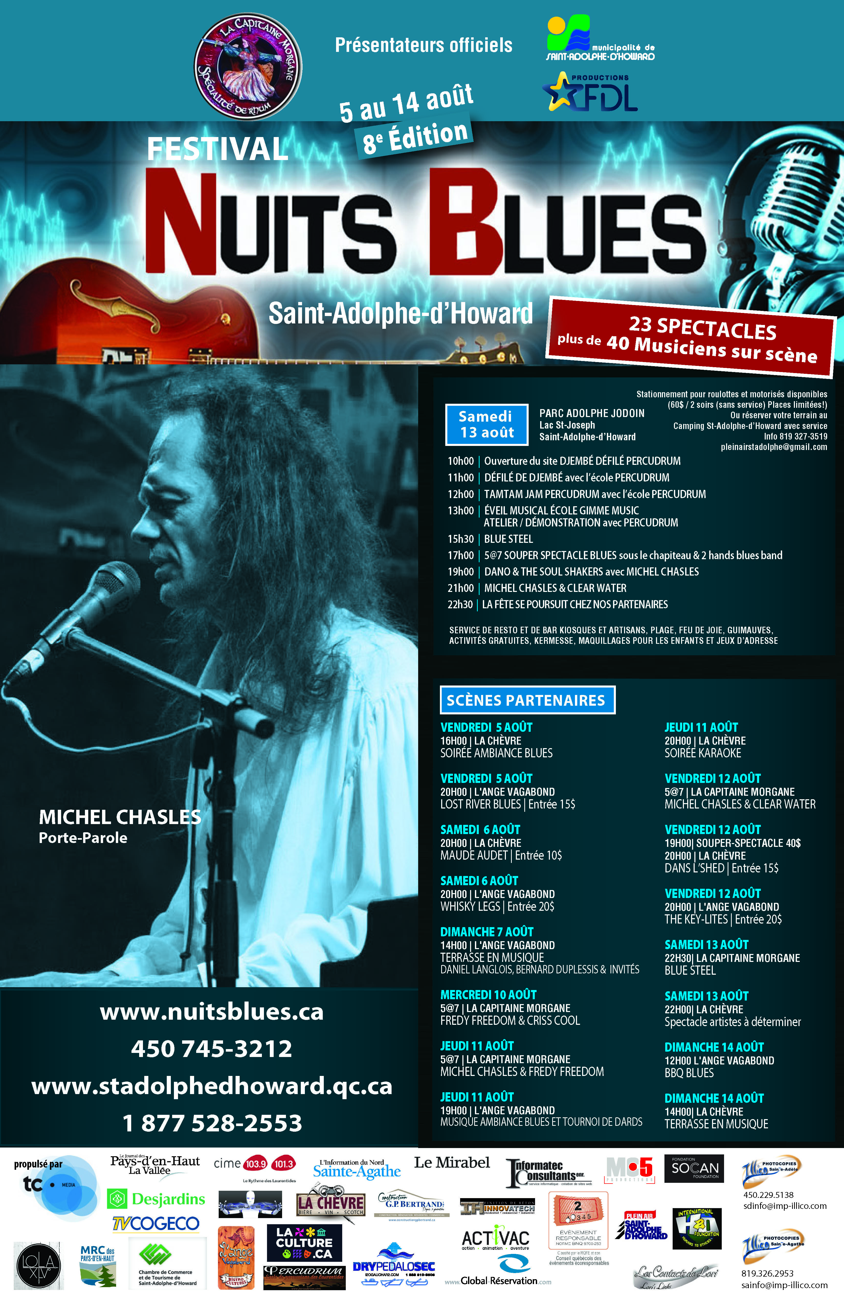 Affiche nuit blues 2016 F